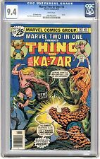 Marvel Two-In-One #16 CGC  9.4 NM  wht pags Ka-Zar Team Up 6/76 R.Buckler Cover