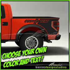 Ford F-150 Raptor Style Bedside Vinyl Decal Graphics 2010 2011 2012 2013 2014