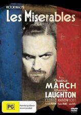 Victor Hugo Les Miserables DVD 1935 Region 4 Fredric March Charles Laughton