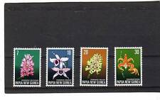 a121 - PAPUA NEW GUINEA - SG273-276 MNH 1974 FLORA CONSERVATION