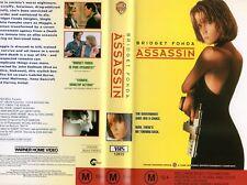 THE ASSASSIN - Bridget Fonda -VHS - PAL -NEW -Never played! -Original Oz release
