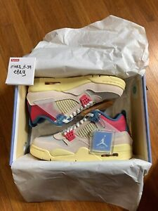 NIKE AIR JORDAN 4 RETRO x UNION LA GUAVA ICE | US 9