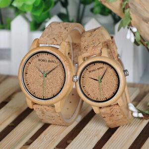 montre en bois homme + femme BOBO BIRD couple saint-valentin watches wooden gift