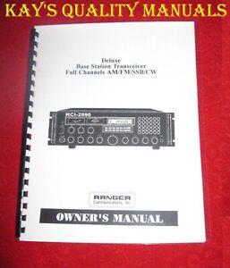 Ranger RCI-2990 Owner's Manual 😊C-MY OTHER MANUALS😊