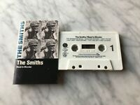 The Smiths Meat Is Murder CASSETTE Tape 1985 Sire How Soon Is Now Morrissey RARE