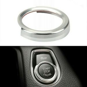 A Car Start Button Decoration Cover Ring Fit For-BMW 16-21 X1