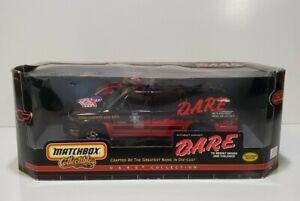 Matchbox D.A.R.E. Chevy Suburban SUV 1:24 Scale Diecast 1999 Model Truck Black