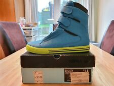 Supra Tk Society - Blue Crackle (Size 10 UK) - Deadstock/ Extremely Rare