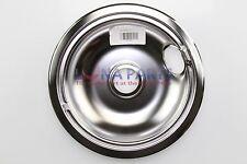 "GE Hotpoint Kenmore Range 8"" Chrome Drip Pan Bowl WB31K5025 WB31K5025E 345808"