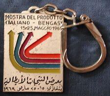 DISTINTIVO BADGE MOSTRA DEL PRODOTTO ITALIANO A BENGASI MAGGIO 1969 ITALIA LIBIA