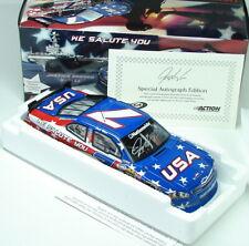 Josh Wise #7 We Salute You 2011 Chevy Impala Autographed Action USA 1/24 COA 11