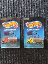 1988 Hot Wheels Peterbilt Tank Trucks