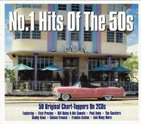 NO.1 HITS OF THE 50S - 50 ORIGINAL CHART-TOPPERS - VARIOUS ARTISTS (NEW 2CD)