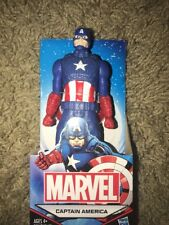 """Captain America Marvel Action Figure Avengers 6"""" (Approximate Size) All Star"""