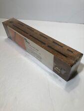 Vintage Chicago Cutlery Oak Wall Mount Knife Holder Rack Wood Block Sealed KR12