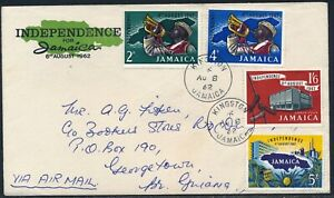 Jamaica 1958 BCF FDC plus Used and 1962 Independence FDC plus Mint & Used Sets