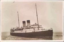 Postcard Shipping Ferries S.S Isle Of Sark real Photo unposted
