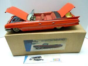 "17"" Large Japan SSS Tin Battery Op./Friction 1961 Cadillac Convertible. RUNS."