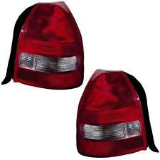 TAIL LAMP LIGHT LEFT AND RIGHT PAIR SET FITS 1999 2000 HONDA CIVIC HATCHBACK
