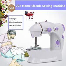 Portable Mini Electric Household LED Home Desktop Handheld Sewing Machine Kits