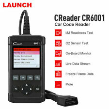 LAUNCH CR6001 OBD2 OBDII Car Diagnostic Code Reader Scanner Check Tool As CR519