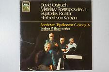 Beethoven Tripelkonzert Oistrach Rostropowitsch Richter von Karajan (LP14)