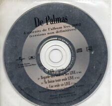 Gérald De PALMAS4 extraits de l'album live 2002 - promoCD SINGLEPolydor 4780