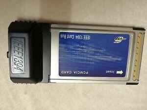 PCMCIA Cardbus to Firewire 3 -port 1394 Controller Adapter