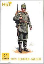 HaT 8199 Ww1 German Jaeger. 1/72 Scale 48 Figures