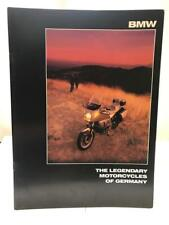 Vintage Bmw Brochure R and K Series The Legendary Motorcycles of Germany Catalog