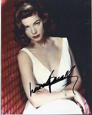 Lauren Bacall The Big Sleep Key Largo Oscar Nominee Rare Signed Autograph Photo