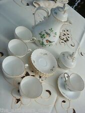 """Alka Kunst Kaiser """"Tirol"""" pattern, coffee pot, sugar and 5 cups and saucers[2-4]"""