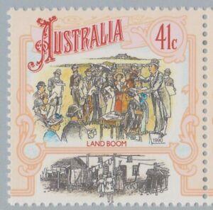 Australia Post Decimal - 1990 Book & 5-strip: Boomtime Australia 1871-1890 - MNH