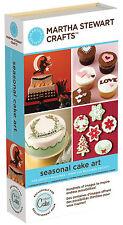 NEW!!  Cricut Martha Stewart Seasonal Cake Art!!  Use with any cricut machine!!