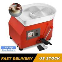 Ceramic Potting Machine Clay Pottery Wheel Sculpting Continuously Variable Speed
