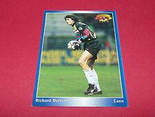 RICHARD DUTRUEL SM STADE MALHERBE DE CAEN  PANINI FOOTBALL CARD 1994-1995