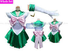 Sailor Moon Sailor Jupiter/Makoto Kino/Lita Kino Dress Cosplay Clothing Costume