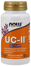 UC-II Type II Collagen Joint Support 120 Vcaps by Now Foods 01/20