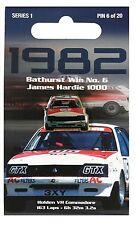 PETER BROCK - 1982 JAMES HARDIE 1000 BATHURST WIN PIN #6