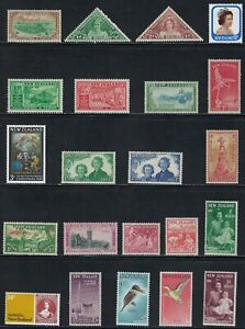 New Zealand  - Very Nice Older Mint Stamps ...............11R......R-713