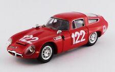 1:43 Alfa Romeo TZ1 n°122 Targa Florio 1966 1/43 • BEST BEST9649