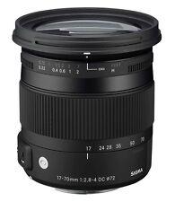 Sigma Contemporary 17-70 mm F/2.8-4.0 DC OS HSM Objektiv für Nikon  Aussteller