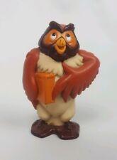 Fox and Hound Big Mama Owl Figure Cake Topper PVC Toy Rare VHTF