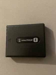 Genuine Sony NP-FF50 Rechargeable Battery Pack InfoLithium F Series-Untested
