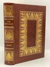 Easton Press THE REPUBLIC Plato Socrates Collectors Limited Edition Greek Greece