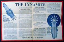 The Lynamite Spark Plugs Ad - Free Trial Offer - Lydon Mfg. Co. - Chicago, IL