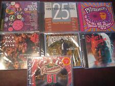 ROOTS OF 60'S ROCK STEWART BOWIE DEEP PURPLE MOODIES LOVE 7 CD SET 135 TRACKS