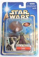 Yoda Jedi Master Star Wars Attack of the Clones Action Figure NIP Hasbro NIB