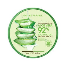 NATURE REPUBLIC Aloe Vera 92% Soothing Gel 300ml Skin Hydration Moisture