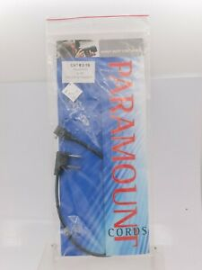 """NOS - Paramount USA Graflex Household To PC Sync Flash Cable Cord 12"""" Straight"""